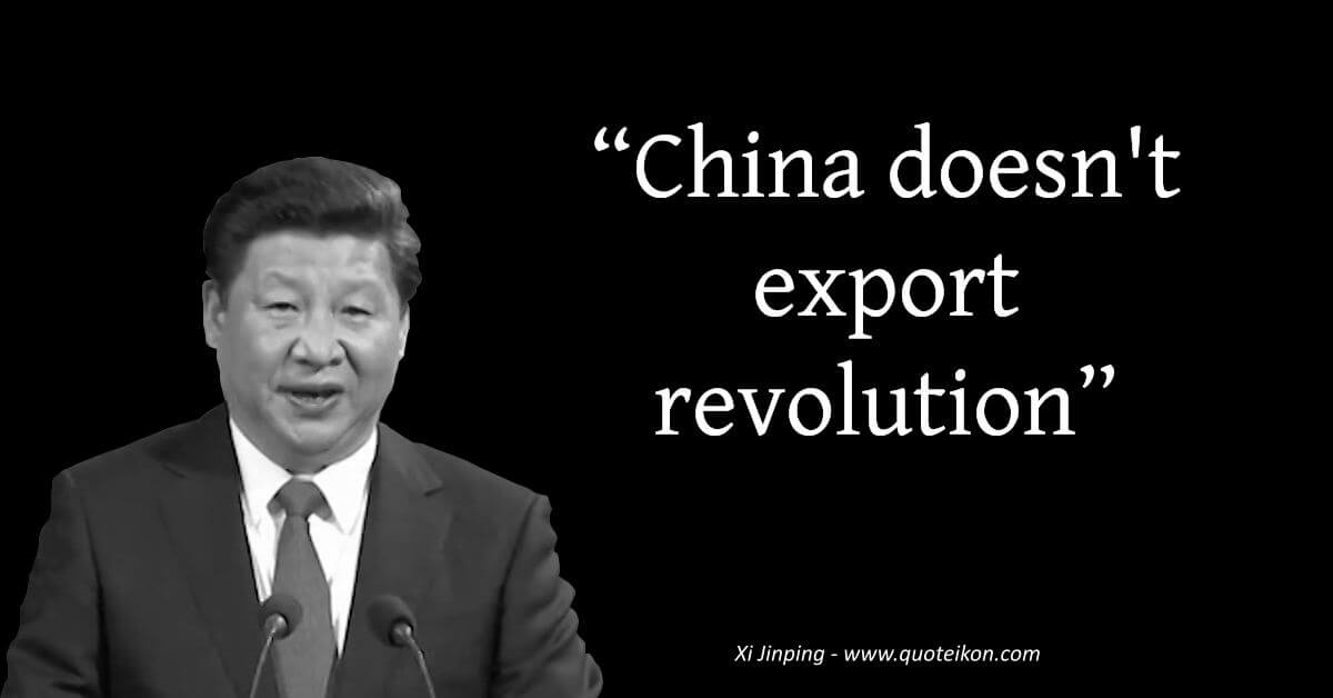 Xi Jinping image quote