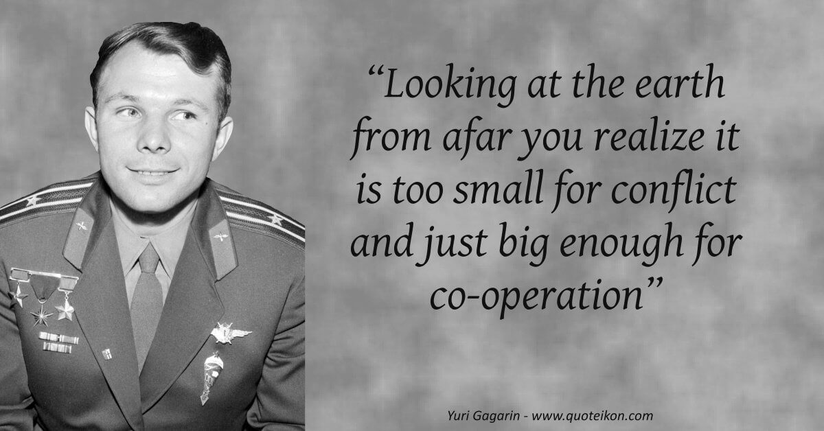 Yuri Gagarin quote
