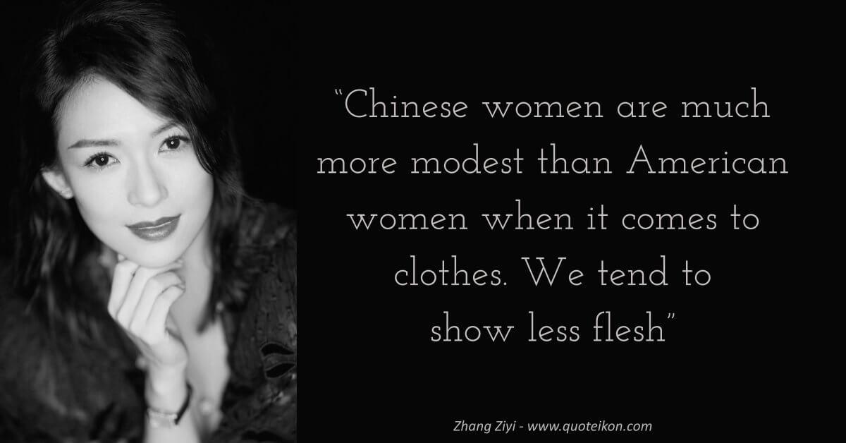 Zhang Ziyi image quote