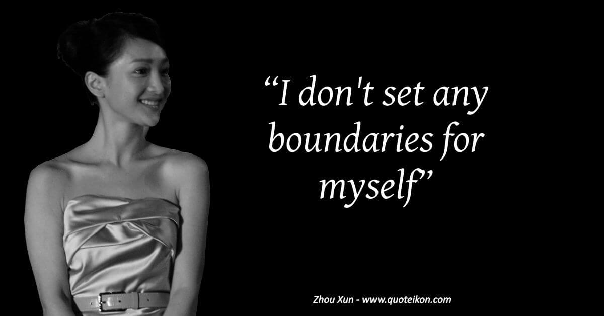 Zhou Xun image quote