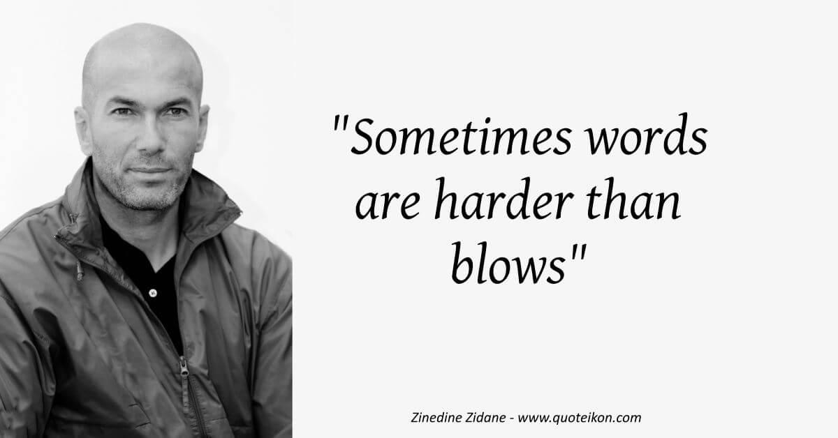 Zinedine Zidane image quote