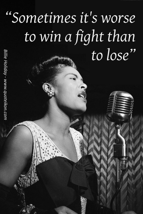 Billie Holiday pin
