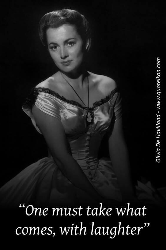Olivia De Havilland pin