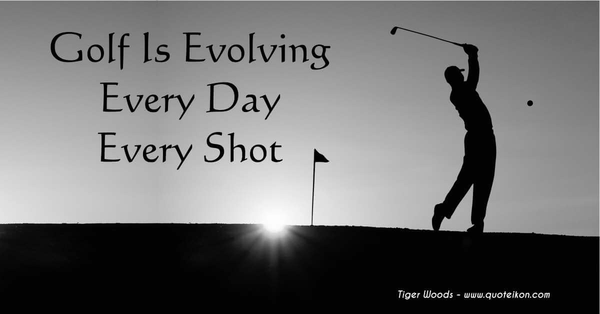 Golf Is Evolving, Every Day, Every Shot